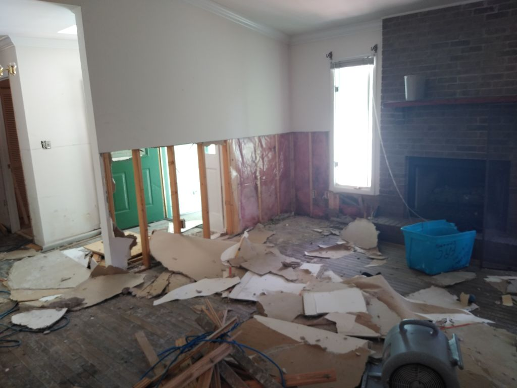 Water Damage Restoration & Remediation